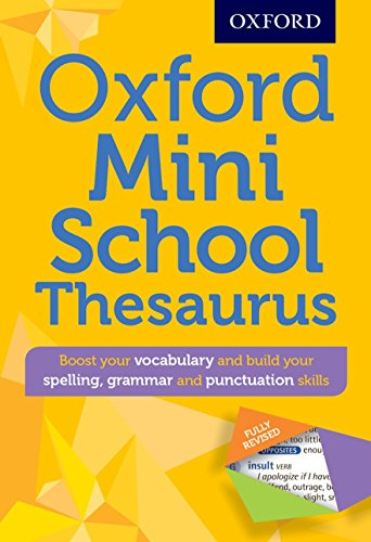 Mini school thesaurus