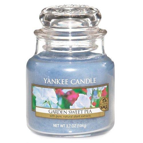 Yankee Candle Glaskerze, klein, Garden Sweet Pea