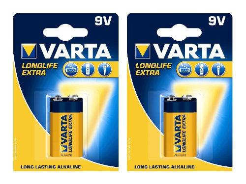 Varta 4122101411 Batterie-Set 2x (E-Block, Longlife Extra)