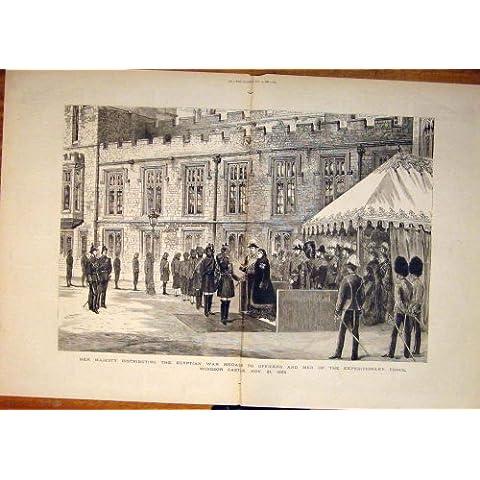 FIUME 1882 DEL TEVERE DI REGATA DI SCHIZZO DI WHITEHALL DELLE GUARDIE DI CAVALLO