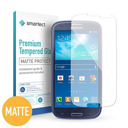 smartect Mattes Panzerglas für Samsung Galaxy S3 / S3 NEO [MATT] - Bildschirmschutz mit 9H Härte - Blasenfreie Schutzfolie - Anti Fingerprint Panzerglasfolie