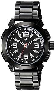 Fastrack Black Dial Men's Analog Watch - 3130NM01