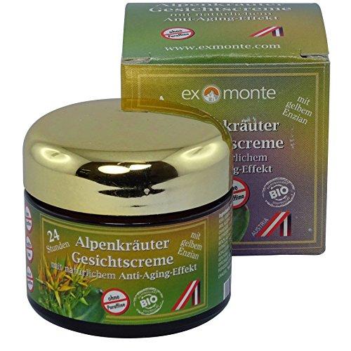 exmonte Alpenkräuter Gesichtscreme, 1er Pack (1 x 0.05 l)