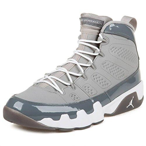 Jordan - Zapatillas de Deporte de Cuero para Hombre Gris Gris 41