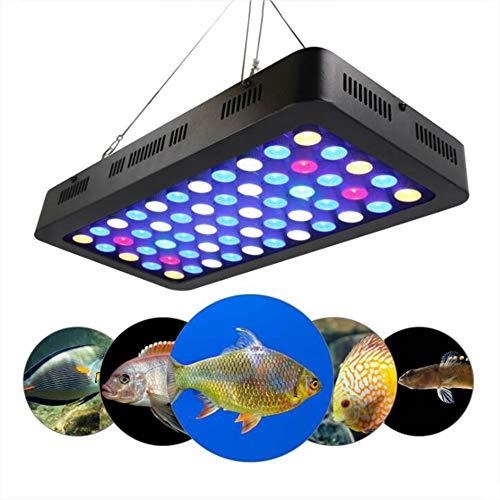 165W Aquarium Beleuchtung LED Pflanzenlampe Aquariumlicht Dimmable Aquarium Licht Dekoration Weiß/Blau/Moonlight Blue Für Reef/Coral/ Pflanzen Im Fisch Tank Meerwasser - Coral Aquarium Dekoration Reef