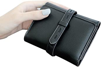 Outtop Faux-Leather Small Tassel Wallet with Card Holder