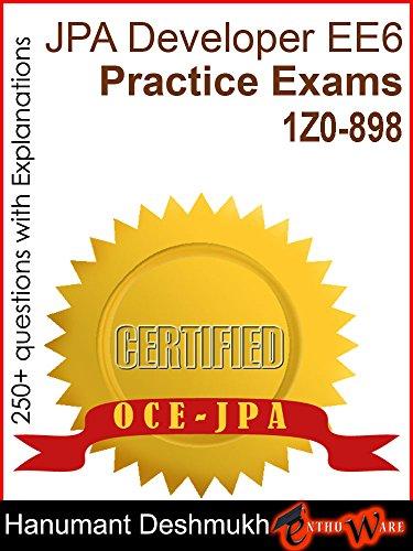 OCE JPA Oracle Certified Expert Java Persistence API Developer EE6 ...