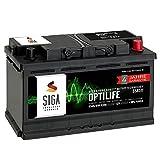 SIGA OPTILIFE Autobatterie 12V 85Ah **4 JAHRE GARANTIE** statt 80Ah 85Ah 90Ah
