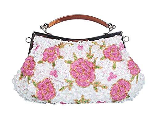 LAIDAYE Dinner Tasche Retro Handtasche Handtasche Messenger Bag Handtaschen 3