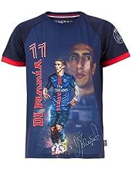 2c307cc68380b Angel-Camiseta DI MARIA Colección oficial del equipo de fútbol PARIS SAINT-GERMAIN  talla