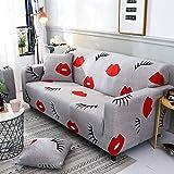 Maneray Schonbezüge Sofa Stretch Schnittsofabezüge für Wohnzimmer Moderne Couch Pet Cover Elastische Hülle Sofa Cubre Sofa 1 Stück 1-seat 90-140cm