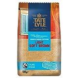Tate & Lyle Fairtrade hellbrauner feiner Rohrzucker 500g