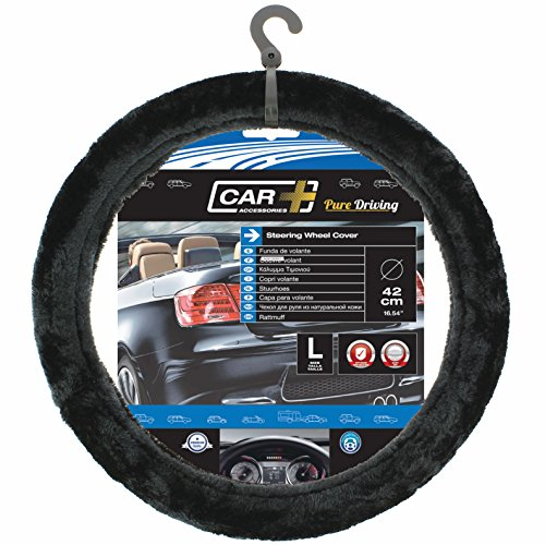 Race Sport - Couvre Volant Moumoute Noir