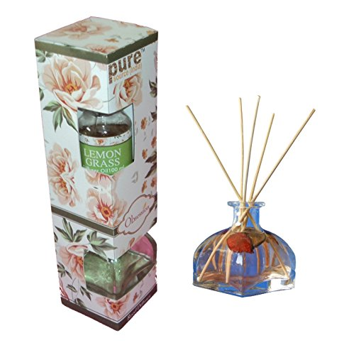 Pure Source India Good quality reed diffuser / freshener set with one...