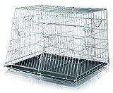 Trixie 3930 Home Kennel, doppelt, S-M: 90 × 64 × 79 cm
