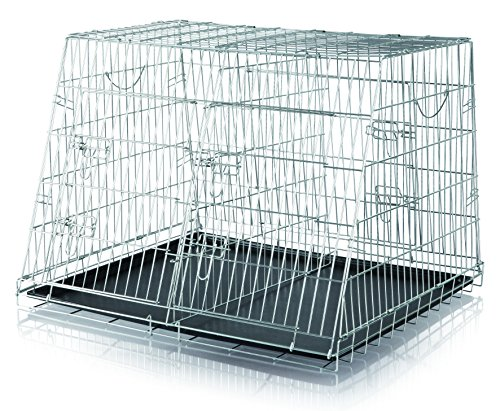 Trixie 3930 Home Kennel, doppelt, S-M: 90 × 64 × 79 cm