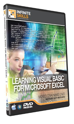 Learn Visual Basic for Microsoft Excel - Training DVD - Tutorial Video Test