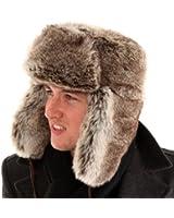 Adult Unisex Fake fur trapper hat Warm & snuggly