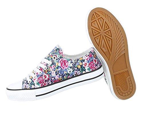 Damen Freizeitschuhe Schuhe Sneakers Sportschuhe Turnschuhe Turnschuhe Blau