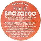 Snazaroo - Colori Pittura per il Viso, Arancione, 75 ml