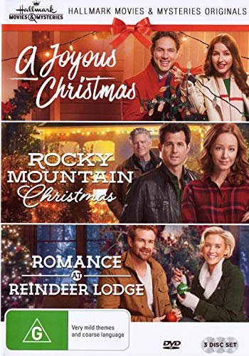 Price comparison product image Hallmark Christmas 3 Film Collection (A Joyous Christmas / Rocky Mountain Christmas / Romance at Reindeer Lodge)