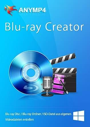 AnyMP4 Blu-ray Creator 1 Year License - Videos wie MP4, MKV, AVI, WMV, MOV auf Blu-ray brennen [Download]