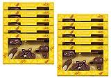 10er SET Schokolade Fahrrad Geschenkpackung Edelvollmilch 100 g