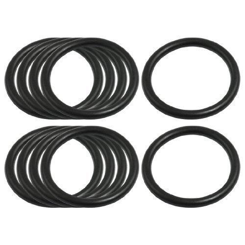 sourcingmapr-4mm-x-41mm-gomma-nera-sigillante-o-ring-rondella-di-tenuta-gommini-10-pz