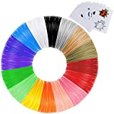 Anpro 3D Stift Filament PLA Filament 1.75mm 112M 16 Farben je 7M 3D Print Filament 3D Printer Material für 3DDrucker
