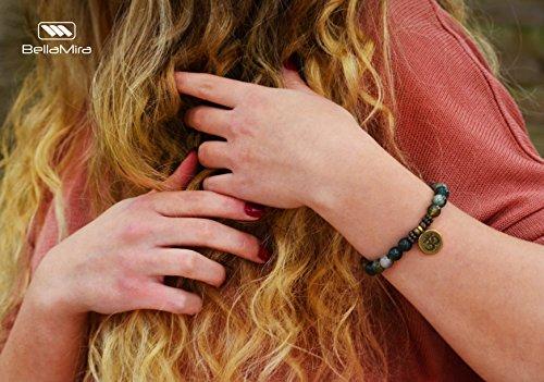 Zoom IMG-1 bracciale peace and love fatto