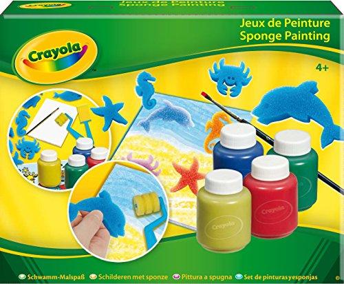 Crayola - Set De Pinturas Y Esponjas 5314