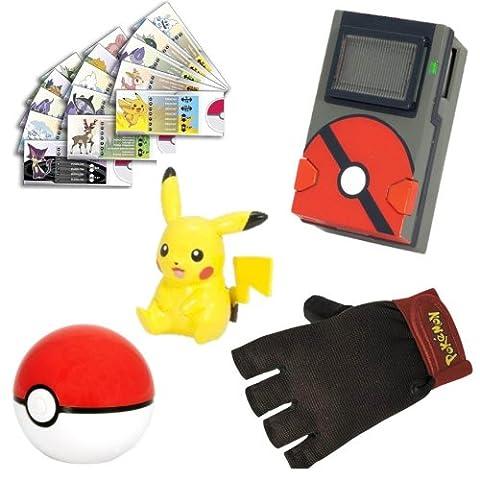 Tomy Pokémon - T18201 - Accessoire Figurine - Kit Pokédex - Modèle Aléatoire
