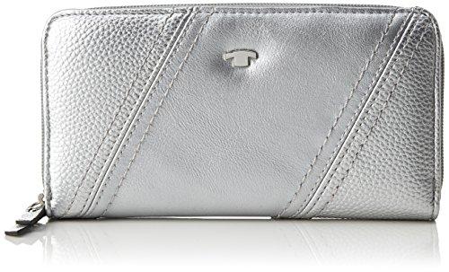 TOM TAILOR Acc Damen Hedi Geldbörse, Silber (Silber), 2.5x10.5x20 cm