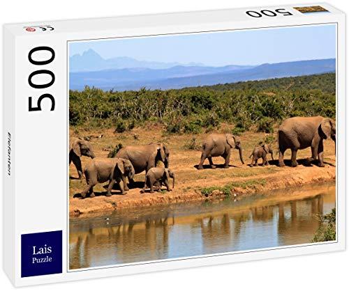 Lais Puzzle Elefantes 500 Piezas