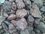 25 kg Lava Rocks 40-150 mm Aquarium BBQ Outdoor Garden Decor Barbecue