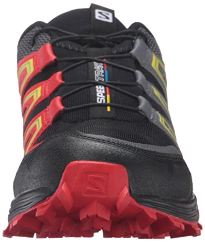 Salomon L39062400, Sneakers trail-running homme Noir