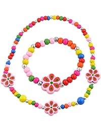 """Angel Glitter""""Gather The Beautiful Flowers"""" 2-PCS Jewellery Set"""