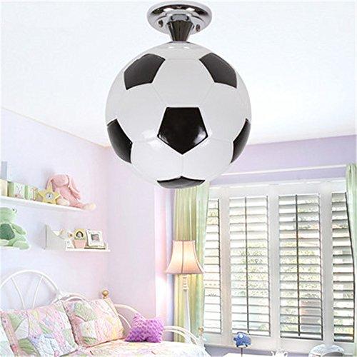 XMINL moderne kreative niedliche Fußball-Deckenleuchten Kronleuchter für Kinderzimmer-Deckenlampen-Befestigungen