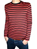 Search : Mens Red and Black Long Sleeve T-shirt Mod Tees