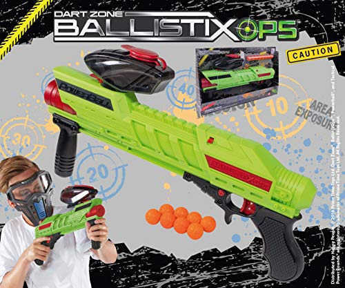 Happy People Kugelkanone / Blaster ** Dart Zone Ballistix OPS ** 16800