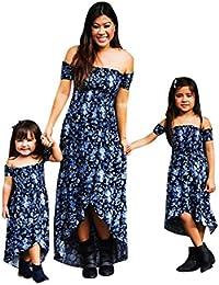 d26115cc8434 Amazon.it  mamma e figlia vestito - L   Donna  Abbigliamento