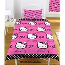 Piumone Hello Kitty 1 Piazza E Mezza.Amazon It Trapunte Hello Kitty