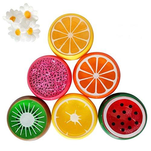 leim, Behälter in Fruchtoptik, 6 Stück (Niedliche Halloween-kunst Und Handwerk)