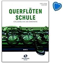 Flûte traversière Ecole Band 2–zweibändige pour adolescents et adultes–Manuel Avec Trombone en forme de cœur coloré–vhr36649783864340987