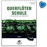 Querflötenschule Band 2 - zweibändige Schule für Jugendliche und Erwachsene - Lehrbuch mit bunter herzförmiger Notenklammer - VHR3664 9783864340987