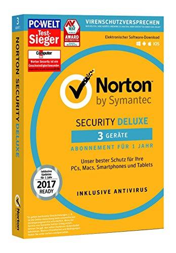 Norton Security Deluxe (3 Geräte - PC, Mac, Sma...
