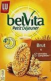Belvita Biscuits Petit Déjeuner Brut 5 Céréales Complètes 400 g - Lot de 7