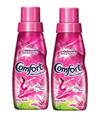 Comfort After Wash Lily Fresh Fabric Conditioner - 220 ml (Pack of 2)