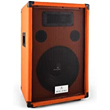 Malone Beatamine-D 200W Negro, Naranja altavoz - Altavoces (1.0 canales, Alámbrico, 200 W, 70-18000 Hz, 8 Ω, Negro, Naranja)