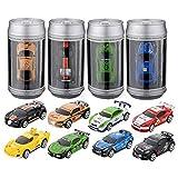 MECO Mini 1:58 RC Ferngesteuert Auto Racing Car Fahrzeugmodell Spielzeug Geschenk Fernsteuerung mit Ladefunktion inkl. Zubehör Rot 27MHz